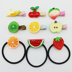 CHOIX - Fruit Hair Tie / Hair Clip