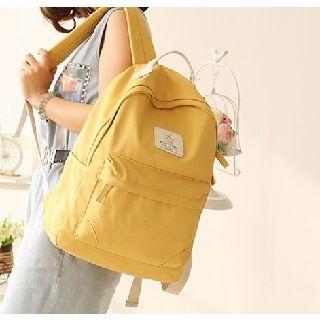 Canvas Love - Plain Canvas Backpack