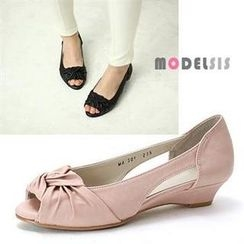 MODELSIS - Peep Toe Wedges
