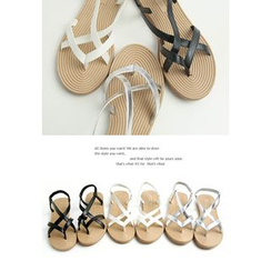 REDOPIN - Sling-Back Strappy Sandals