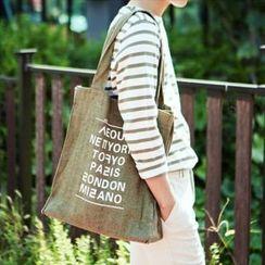 Asphalt - Shopper Bag