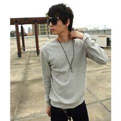 uninukoo - Plain Sweatshirt