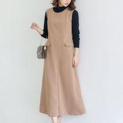 AC - Sleeveless Midi Dress