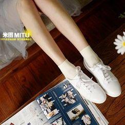 MITU - Plain Sheer Socks