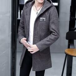 Fusuma - Hooded Long Coat