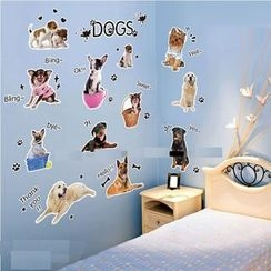 LESIGN - Dogs Wall Sticker