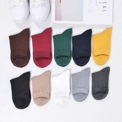 Aeoo - 純色襪