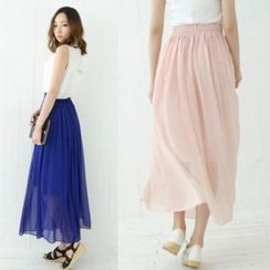 Cookie 7 - Chiffon Maxi Skirt