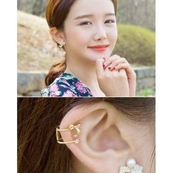 Miss21 Korea - Bow-Accent Ear Cuff (Single)