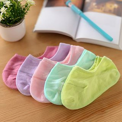59 Seconds - Set of 5: Multicolored Low Socks