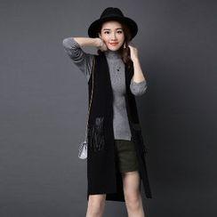 Romantica - Fringed Knit Vest