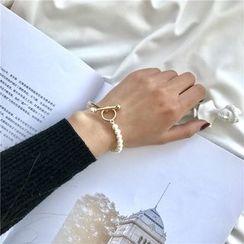 Kokyu - Faux Pearl Bracelet