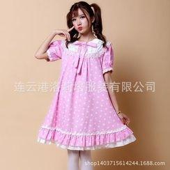 Kaguya - Star Print Maid Party Costume