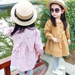 CUBS - Kids Button Down Long-Sleeve Dress