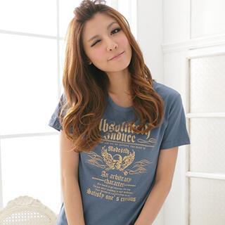 RingBear - Eagle-Print T-Shirt