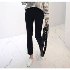 Miamasvin - Pocket-Side Tapered Dress Pants