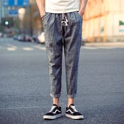 Gurun Vani - Linen Tapered Pants