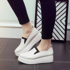 Hannah - Platform Slip-Ons