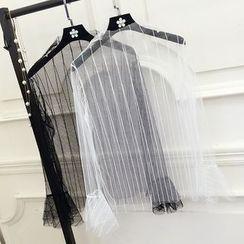 Honeydew - 長袖透視上衣
