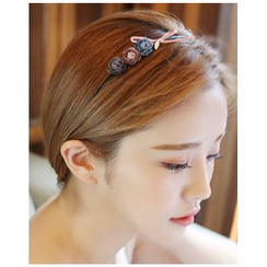 Miss21 Korea - Corsage Beribboned Slim Hair Band