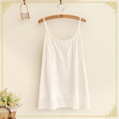 Fairyland - Lace Trim Camisole Top