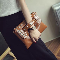 Rosanna Bags - Studded Flap Clutch