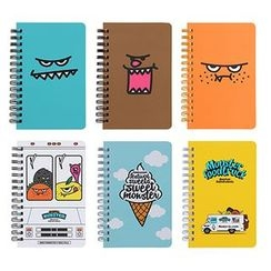 Full House - antennashop - Spring Notebook (Small)