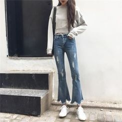 CosmoCorner - Boot Cut Jeans