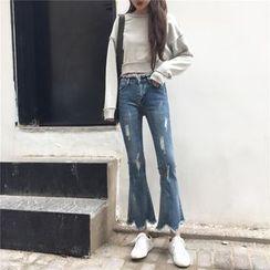 CosmoCorner - Boot Cut Jeans