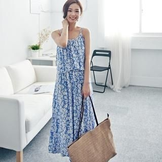 LULUS - Two-Way Floral Sleeveless Maxi Dress
