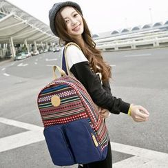 VIVA - Pattern Canvas Backpack