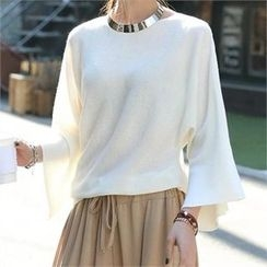 CHICFOX - Bell-Sleeve Top