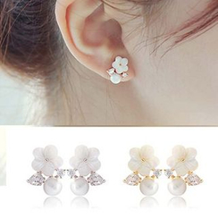 Glamiz - Flower Earrings