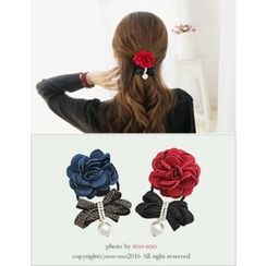 soo n soo - Flower Glittered Hair Tie
