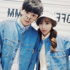 FULLHOPE - Couple Matching Denim Jacket