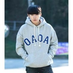 ABOKI - Cotton Drawstring Hooded Pullover