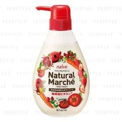 Kracie - Naïve Natural Marche Body Wash (Pomegranate and Strawberry)
