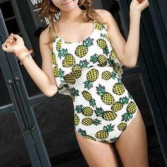 Dolfin - Pineapple Print Swimsuit