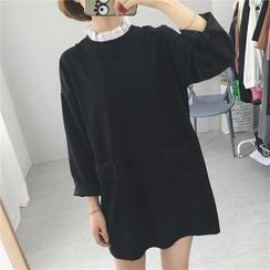 Windbird - Frill Collar Long Sleeve Dress
