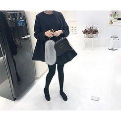 MARSHMALLOW - Maternity Wool Blend Dress