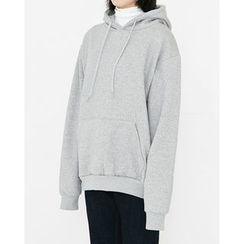 Someday, if - Hooded Brushed-Fleece Lined Pullover