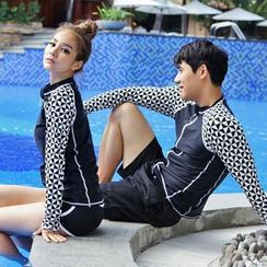 Tamtam Beach - Patterned Rashguard