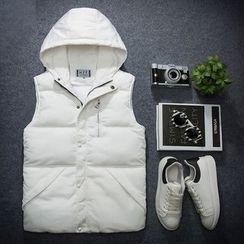Fusuma - Hooded Padded Jacket