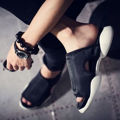 Hipsteria - Color-Block Sandals
