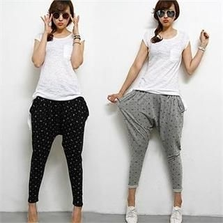 FASHION DIVA - Patterned Harem Pants