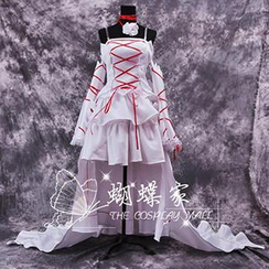 Coshome - Pandora Hearts Alice Baskerville Cosplay Costume
