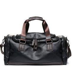 TESU - Faux Leather Duffle Bag