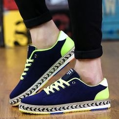 Main Road - Espadrilles Lace Up Sneakers