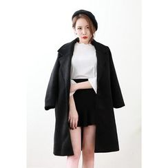Dalkong - Notched-Lapel Single-Button Coat