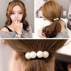 17MART - Beaded Hair Tie